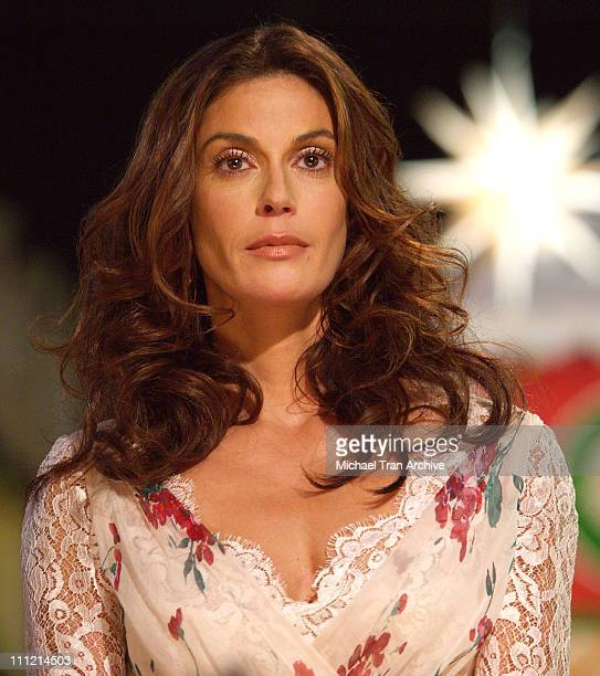 Teri Hatcher during The 4th Annual Holiday Show and Tree Lighting Ceremony at The Grove at The Grove in Hollywood California United States