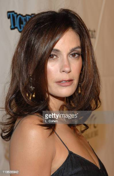 Teri Hatcher during Tiger Jam IX Benefit Concert Arrivals at House of Blues in Las Vegas Nevada United States