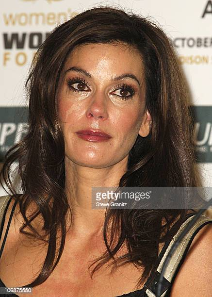 Teri Hatcher during Women's World Awards Press Conference Hosted by Teri Hatcher and Mikhail Gorbachev Inside at Beverly Hilton in Beverly Hills...