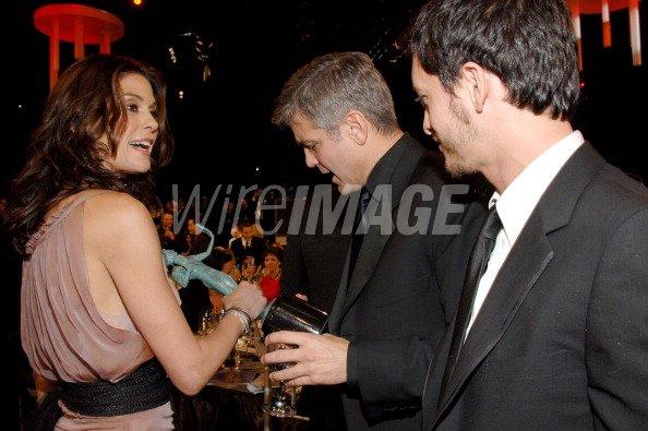 Teri Hatcher George Clooney and...