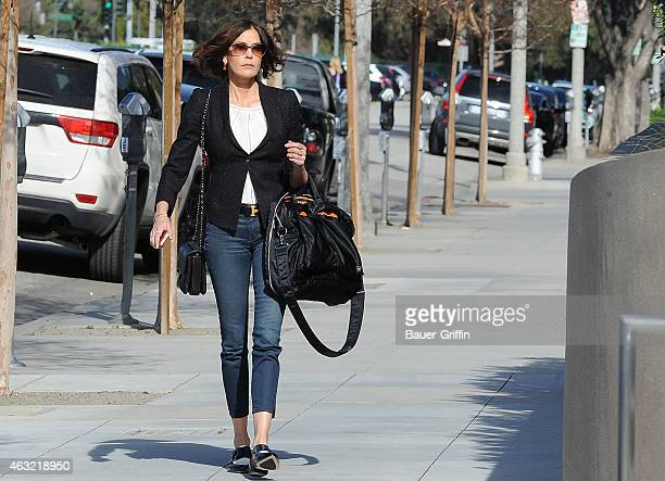 Teri Hatcher is seen on February 11 2015 in Los Angeles California