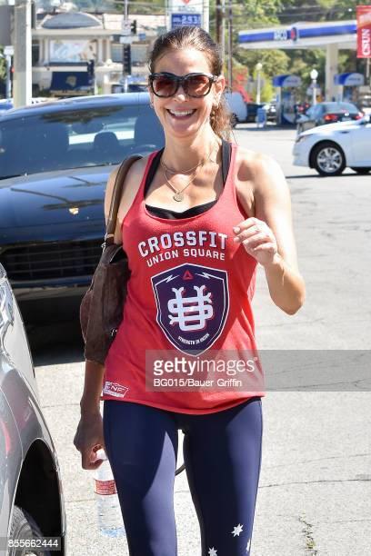 Teri Hatcher is seen on September 29 2017 in Los Angeles California