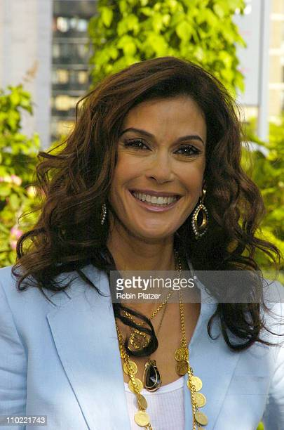 Teri Hatcher of 'Desperate Housewives' during 2005/2006 ABC UpFront at Lincoln Center in New York City New York United States