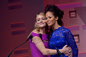 Teri Polo and Sherri Saum and cast of The Fosters speak during the 2013 HRC National Dinner at Washington Convention Center on October 5 2013 in...