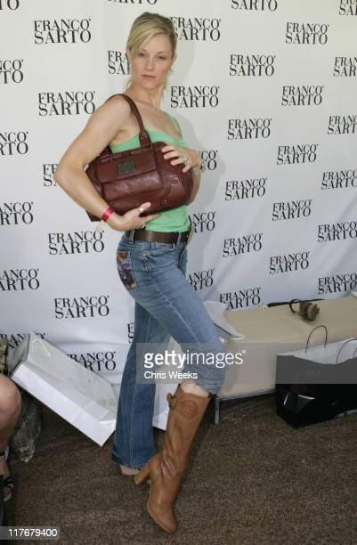 Teri Polo at Franco Sarto during The Silver Spoon Hollywood Buffet PreEmmys Day 2 in Los Angeles California United States Photo by Chris...