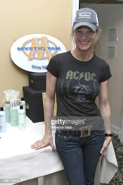 Teri Polo at Mystic Tan during HBO Luxury Lounge Day 1 at Peninsula Hotel in Beverly Hills California United States