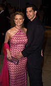 Teri Polo during 2002 Vanity Fair Oscar Party Hosted by Graydon Carter Arrivals at Morton's Restaurant in Beverly Hills California United States