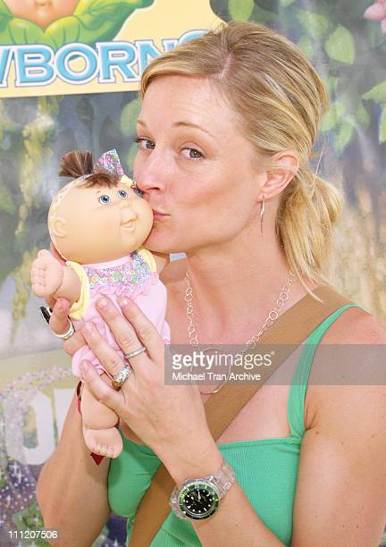 Teri Polo during Silver Spoon Buffet at the 'Cabbage Patch Kids Newborns' Booth Day 2 at Wattles Mansion in Hollywood California United States