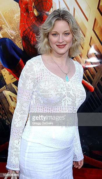 Teri Polo during 'SpiderMan' Premiere at Mann Village in Westwood California United States