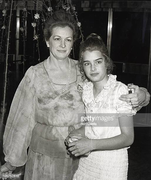 Teri Shields and Brooke Shields during RCA Records Hosts A Party For Kristy McNichol Jimmy McNichol at Studio 54 in New York City New York United...