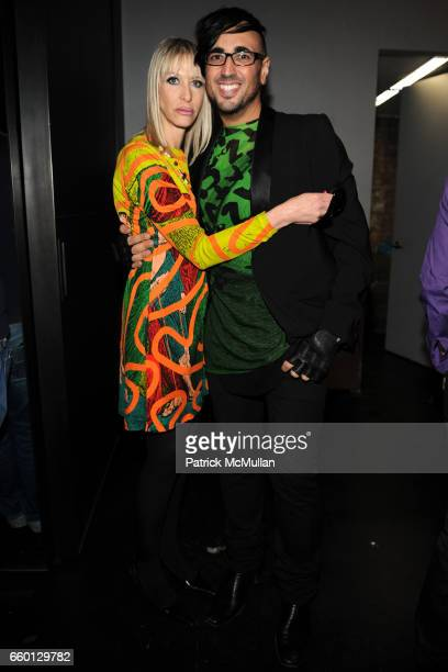 Teri Toye and Mauricio Padilha attend ROGER PADILHA MAURICIO PADILHA Celebrate Their Rizzoli Publication THE STEPHEN SPROUSE BOOK Hosted by DEBBIE...