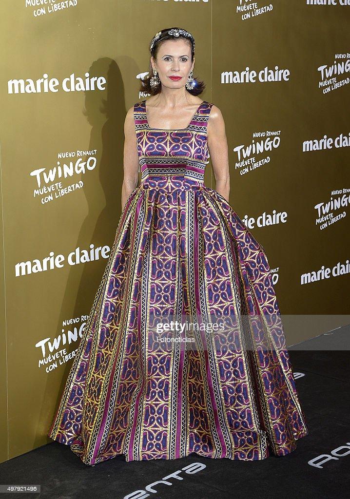 Teria Yabar attends the 2015 Marie Claire Prix de la Mode at Callao Cinema on November 19 2015 in Madrid Spain
