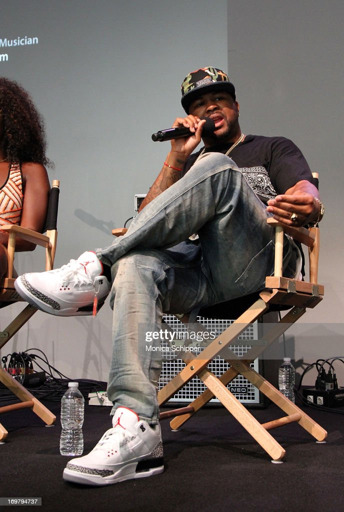Terius The-Dream Nash attends Meet the Musician at Apple Store Soho on June 1, 2013 in New York City.