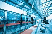terminal entrance,automatic glass doors