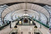 International terminal Suvarnabhumi Airport, Bangkok, Thailand