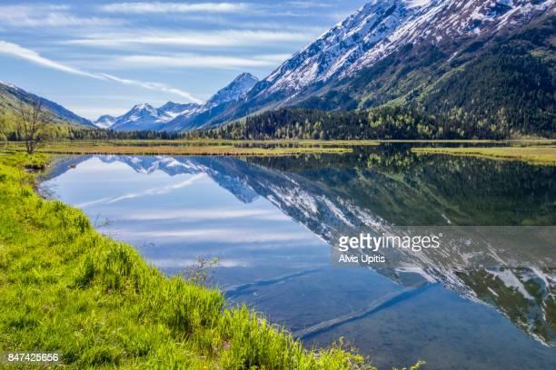 Tern Lake at Steward Junction near Kenai, Alaska
