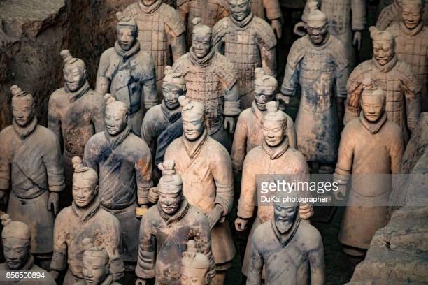 Terra Cotta Warriors in xi 'an