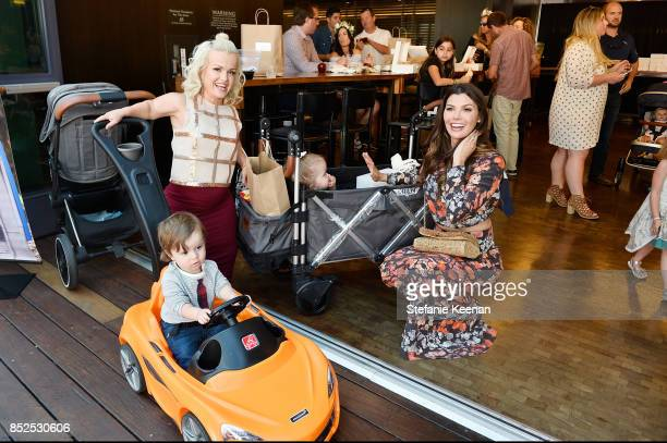 Terra Jole and Ali Landry attend Step 2 Presents 6th Annual Celebrity Red CARpet Safety Awareness Event on September 23 2017 in Culver City California