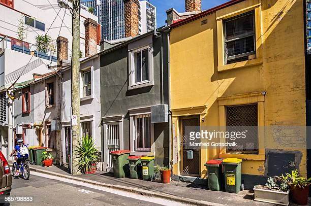 Terrace houses in Goold Street Chippendale
