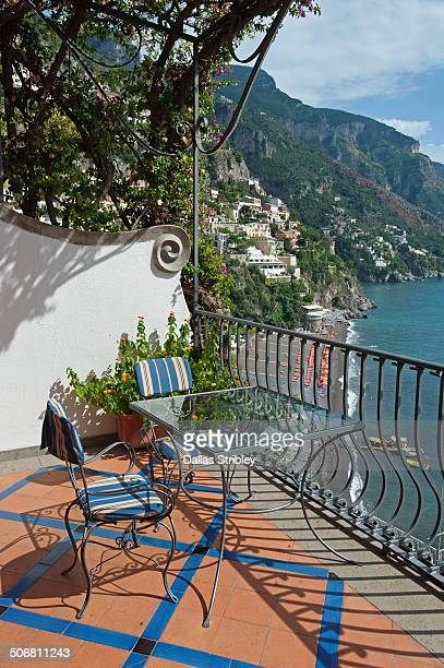 Terrace with a view of Positano