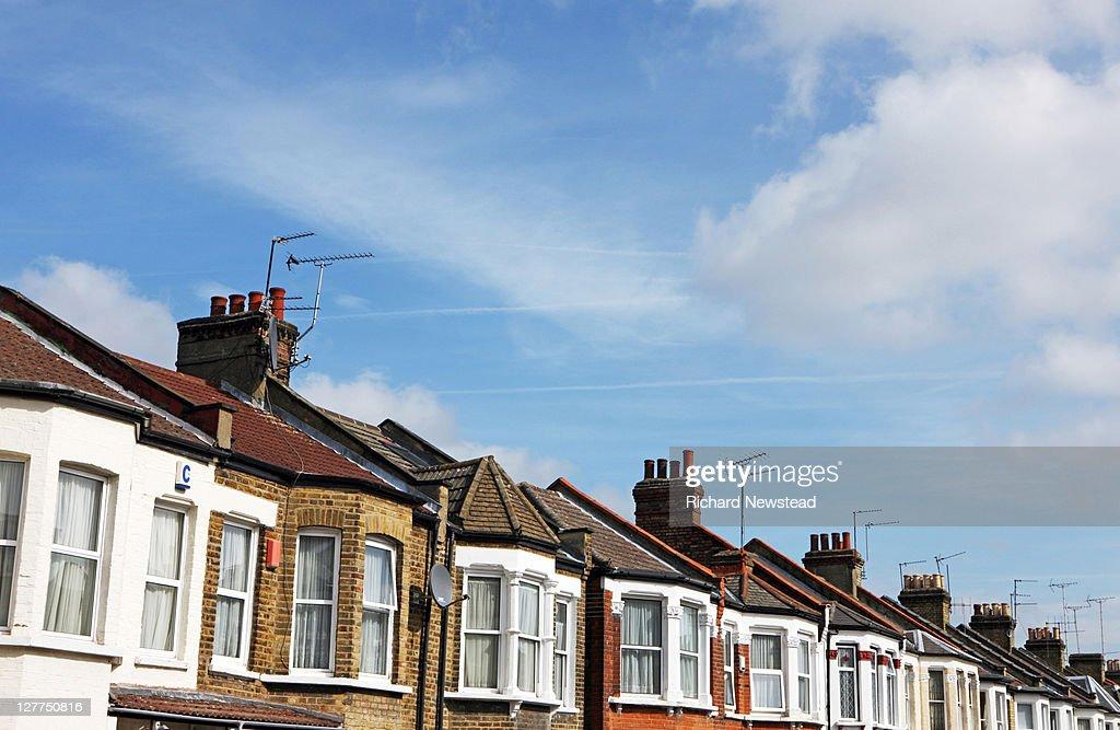 Terraced homes : Stock Photo