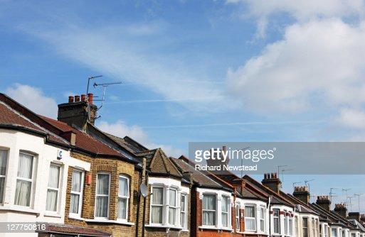 Terraced homes