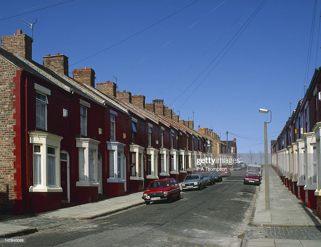 Terraced Houses Liverpool