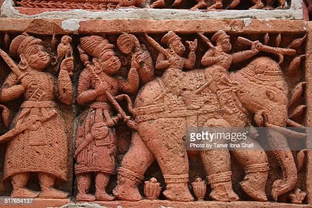 Terracotta architecture of Kantaji temple