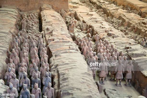 Terracotta army Xi'an Shaanxi Province China