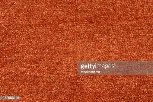 Terracotta Coloured Carpet Stock Photo Getty Images