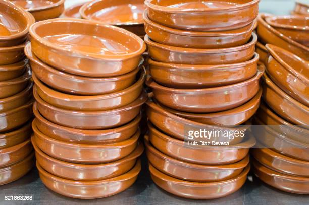 terracotta dishes