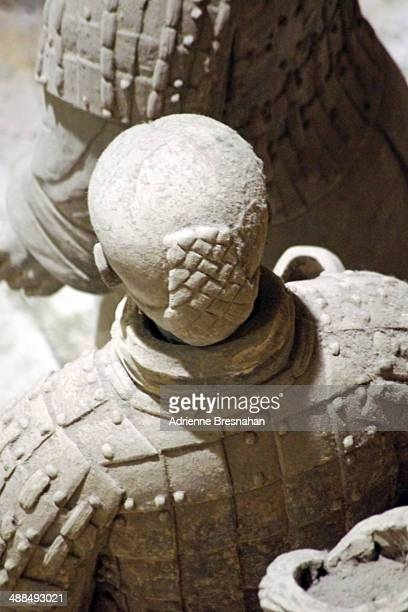 Terracotta Warrior Facing Backwards