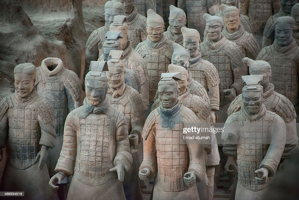 CONTENT] Terracotta Warriors is a collection of culptures depicting the armies of Qin Shi Huang the first Emperor of China