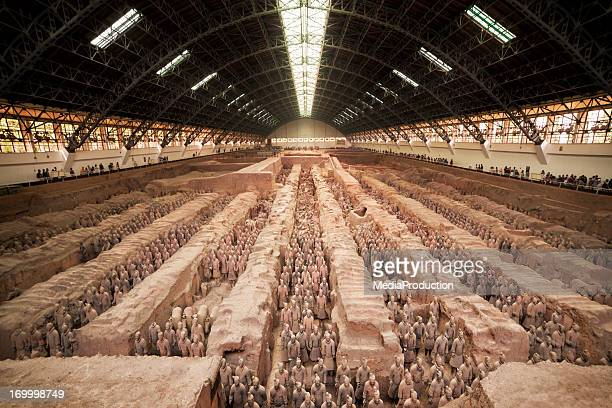 Terracotta warriors of Xian China