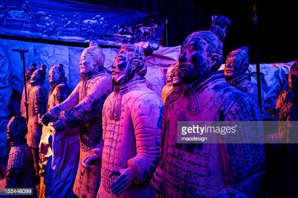 Terra-cotta warriors of Xi'an