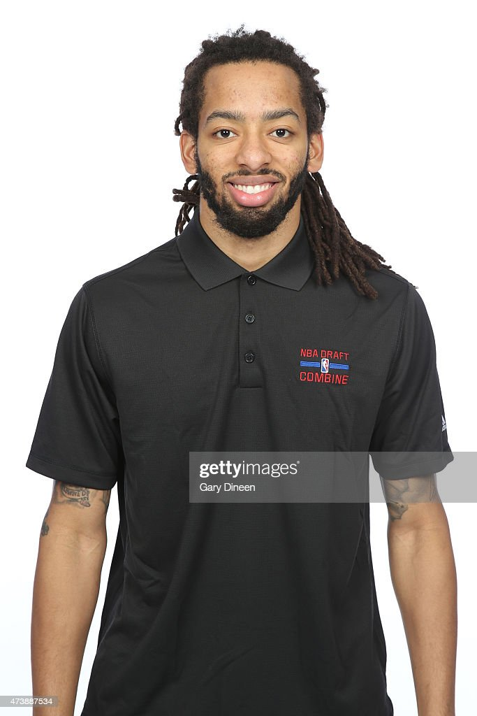 <a gi-track='captionPersonalityLinkClicked' href=/galleries/search?phrase=Terran+Petteway&family=editorial&specificpeople=8710286 ng-click='$event.stopPropagation()'>Terran Petteway</a> poses for a headshot during the 2015 NBA Draft Combine on May 16, 2015 at Northwestern Memorial Hospital in Chicago, Illinois.