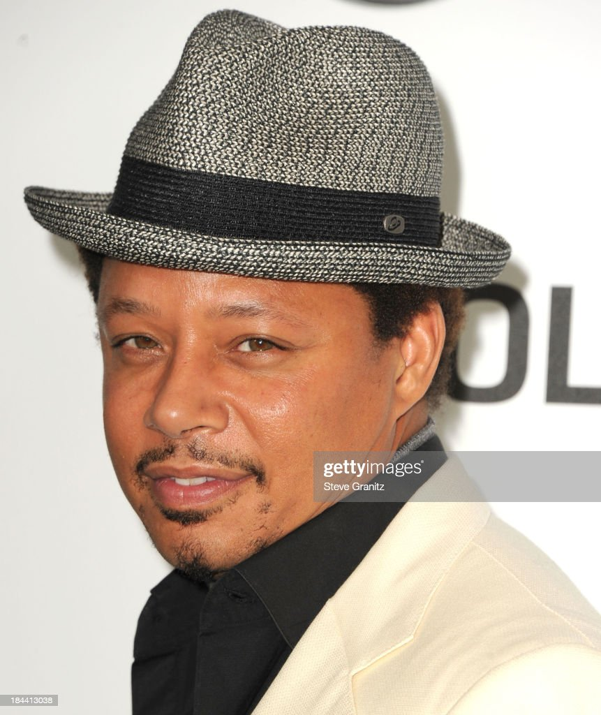 Terrance Howard arrives at the Hugh Jackman: One Night Only Benefiting The Motion Picture & Television Fund at Dolby Theatre on October 12, 2013 in Hollywood, California.