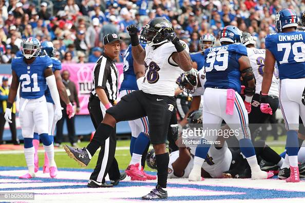 Baltimore Ravens v New York Giants : News Photo