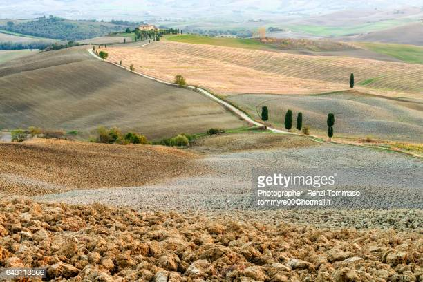 Terrapille country house in Val D'Orcia, Siena