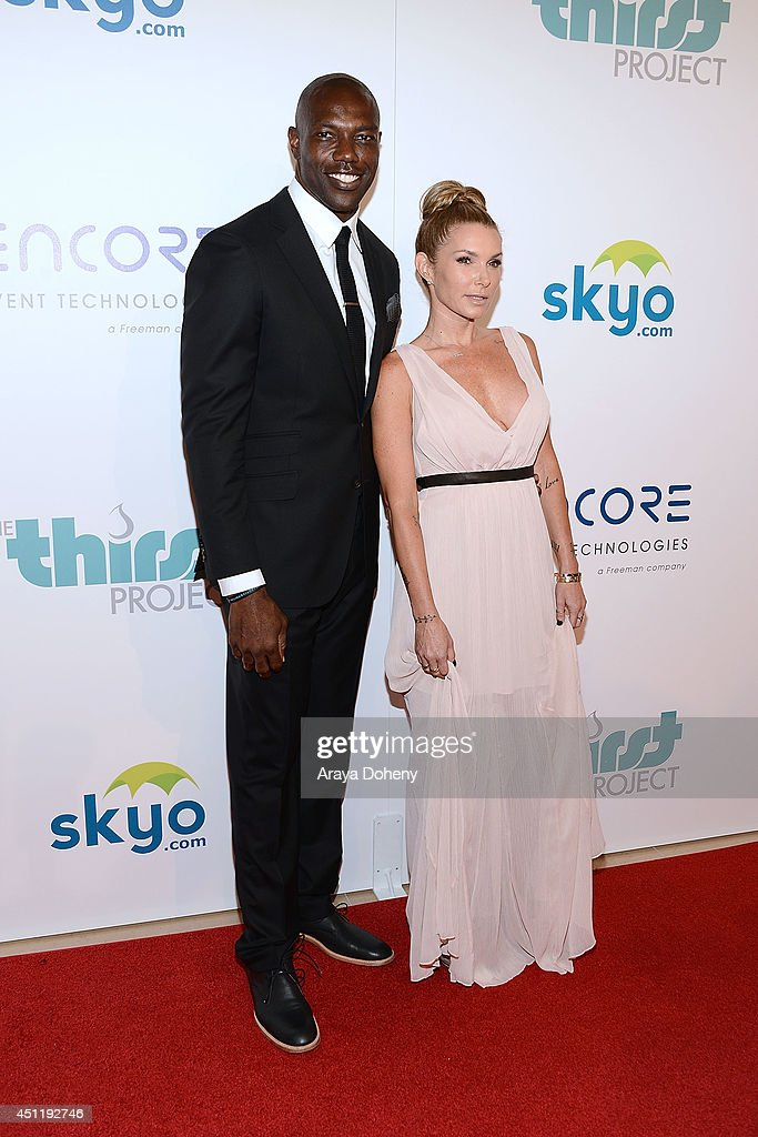 <a gi-track='captionPersonalityLinkClicked' href=/galleries/search?phrase=Terrell+Owens&family=editorial&specificpeople=179474 ng-click='$event.stopPropagation()'>Terrell Owens</a> and Eden Sassoon attend the 5th Annual Thirst Gala hosted by Jennifer Garner in partnership with Skyo and Relativity's 'Earth To Echo' at The Beverly Hilton Hotel on June 24, 2014 in Beverly Hills, California.