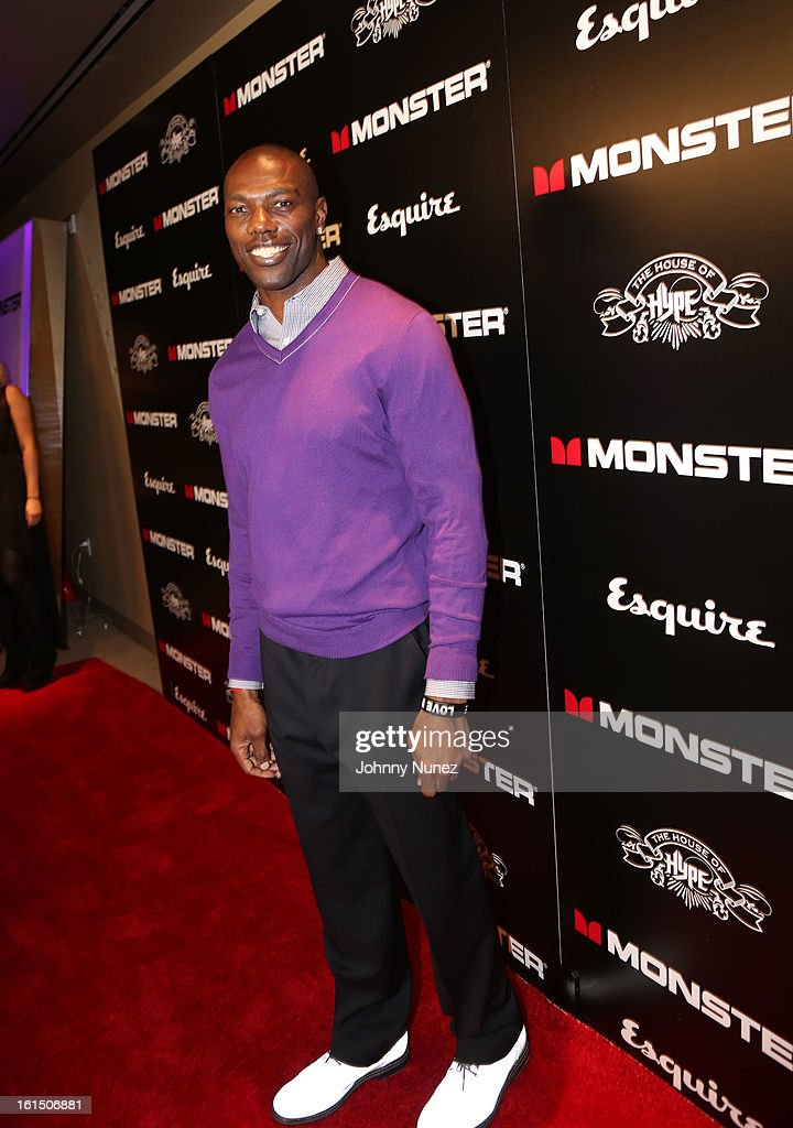 <a gi-track='captionPersonalityLinkClicked' href=/galleries/search?phrase=Terrell+Owens&family=editorial&specificpeople=179474 ng-click='$event.stopPropagation()'>Terrell Owens</a> attend House Of Hype Monster Grammy Party at House Of Hype on February 10, 2013 in Los Angeles, California.