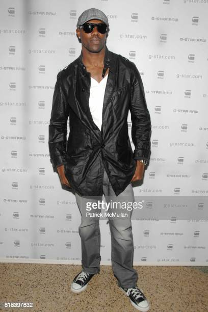 Terrell Owens attends GSTAR RAW Presents NY RAW Fall/Winter 2010 Collection Arrivals at Hammerstein Ballroom on February 16 2010 in New York City