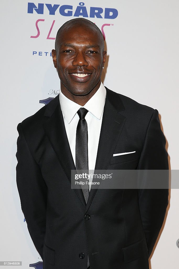 Terrell Owens attends Norby Walters' 26th Annual Night of 100 Stars Oscar Viewing at The Beverly Hilton Hotel on February 28, 2016 in Beverly Hills, California.