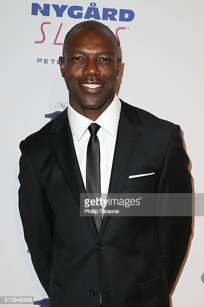 Terrell Owens attends Norby Walters' 26th Annual Night of 100 Stars Oscar Viewing at The Beverly Hilton Hotel on February 28 2016 in Beverly Hills...