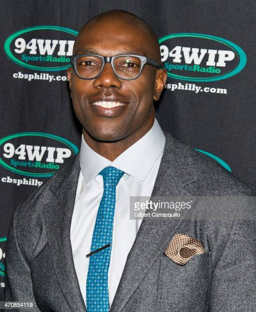 Terrell Owens attends the First Annual Philly Sports Roast at Crystal Tea Room on February 20 2014 in Philadelphia Pennsylvania