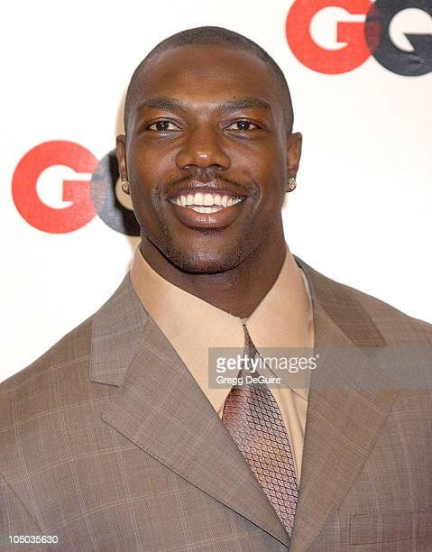 Terrell Owens of the San Francisco 49ers during GQ Honors Tinseltown with the Unveiling of the GQ Annual Hollywood Issue at GQ Lounge at White Lotus...