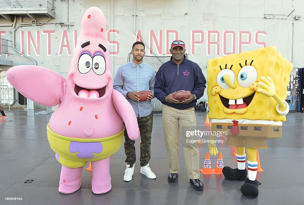 Nickelodeon And NFL Play 60 At The Intrepid