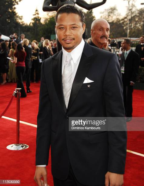 Terrence Howard 10618_dk0074JPG during TNT Broadcasts 12th Annual Screen Actors Guild Awards Red Carpet at Shrine Expo Hall in Los Angeles California...