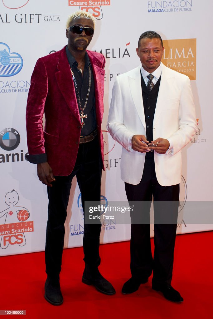 <a gi-track='captionPersonalityLinkClicked' href=/galleries/search?phrase=Terrence+Howard&family=editorial&specificpeople=215196 ng-click='$event.stopPropagation()'>Terrence Howard</a> (R) and guest attends the Global Gift Gala 2012 at Gran Melia Resort Don Pepe on August 19, 2012 in Marbella, Spain. The Global Gift Gala is hosted by Cesare Scariolo Foundation and Eva Longoria Foundation to raise money for children.