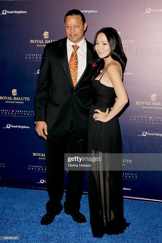 <a gi-track='captionPersonalityLinkClicked' href=/galleries/search?phrase=Terrence+Howard&family=editorial&specificpeople=215196 ng-click='$event.stopPropagation()'>Terrence Howard</a> and Miranda Howard attend the 12th annual Unforgettable Gala at Park Plaza on December 7, 2013 in Los Angeles, California.